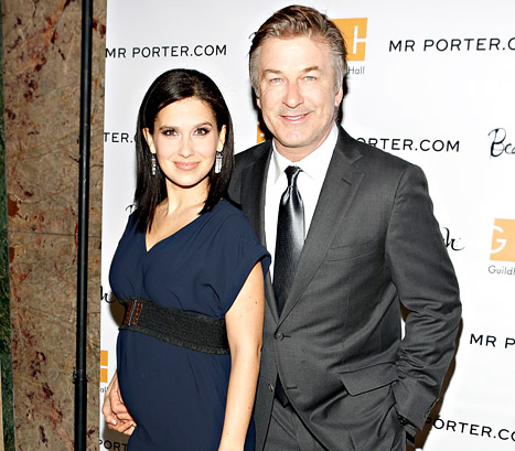 Alec Baldwin's Pregnant Wife Hilaria Is Expecting a Baby Girl