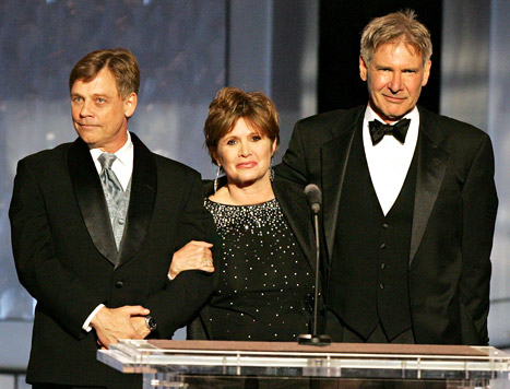 George Lucas &quot;Already Signed&quot; Harrison Ford, Carrie Fisher, Mark Hamill for Star Wars