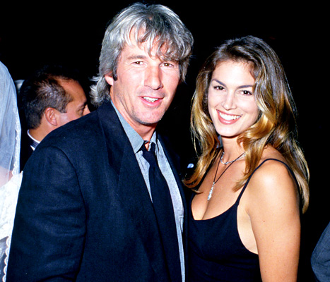 Cindy Crawford Blames Failed Marriage to Richard Gere on 17-Year Age Gap