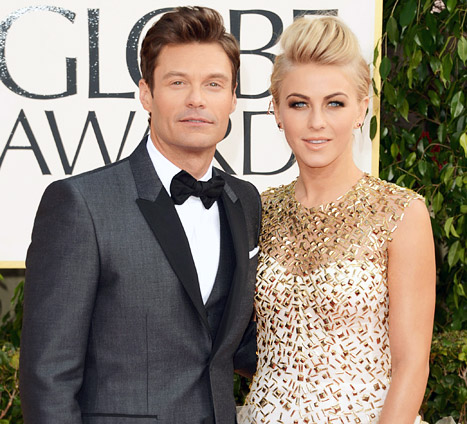 "Ryan Seacrest, Julianne Hough Break Up: ""She Couldn't Handle"" His Nonstop Work Schedule"