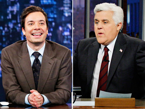 "Jimmy Fallon Addresses Tonight Show Rumors, Jay Leno Jokes NBC Is ""Extinct"""