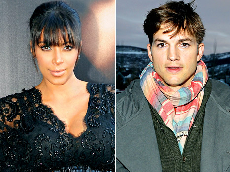 Kim Kardashian Steps Out in a Skin-Tight Leather Skirt; Ashton Kutcher Explains Why He Won&#39;t Talk About Dating Mila Kunis: Today&#39;s Top Stories