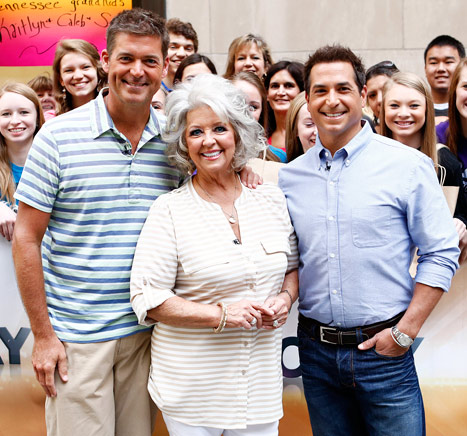 Paula Deen's sons Jamie and Bobby Deen are speaking up for their mama
