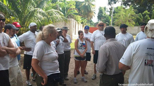 Reports from Huddle for Haiti show its importance