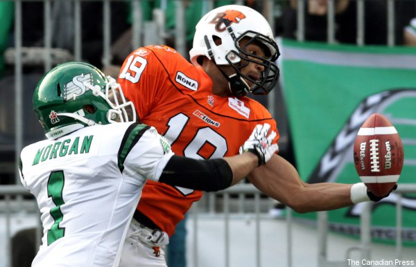 Riders release Omarr Morgan in surprise move