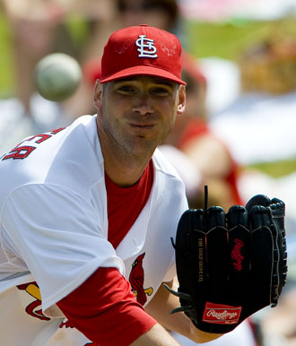 Exhibitionist: Chris Carpenter needs to employ Brockovich-like tactics to gain attention