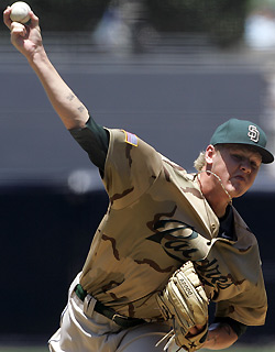 Closing Time: Mat Latos fastballs will  one day power San Diego's Gaslamp Quarter