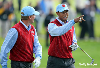 Steve Stricker-Tiger Woods pairing could be the Ryder key