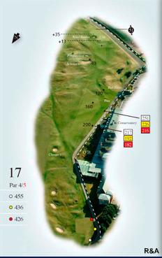 Sizing up St. Andrews' Swing Holes: Hole #17, Road