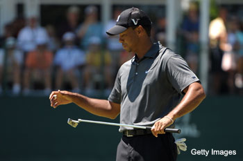 Tiger Woods switches putters, but how much difference will it make?