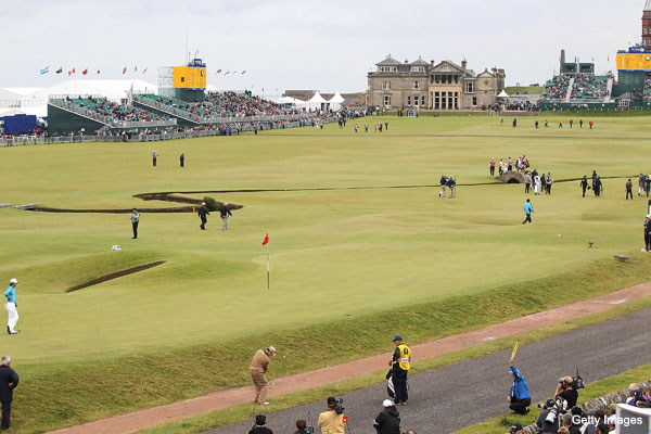 Pate's perspective: Sizing up the Old Course at St. Andrews