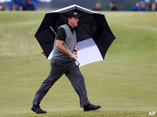 Phil Mickelson gives us yet another British Open disappointment