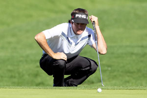 Bubba Watson cares little for your NCAA brackets