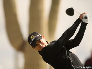 Camilo Villegas leading his perfect storm of a tournament