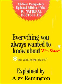 Everything you always wanted to know about: Win Shares