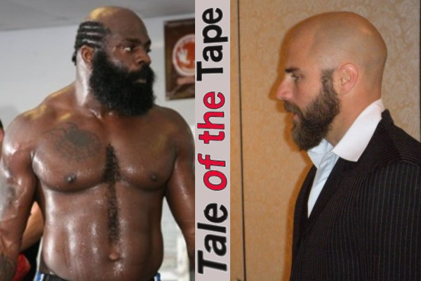 Be like Slice: Reed Johnson's face looking a lot like Kimbo's
