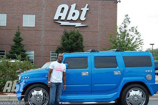 Alfonso Soriano's truck is not what you'd call 'understated'