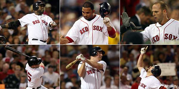 D12: Boston's lineup serves up a super six-pack at Fenway