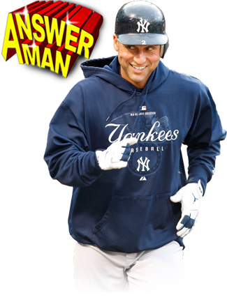 Answer Man: Derek Jeter talks cologne, being Trump's tenant