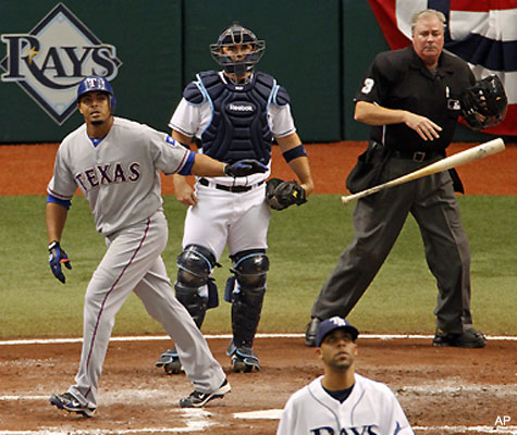 ALDS Game 1: Lee and lineup lasso 5-1 win for Rangers