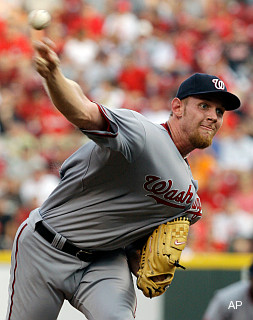 Strasburg to DL with stiff shoulder; everyone has opinion about it
