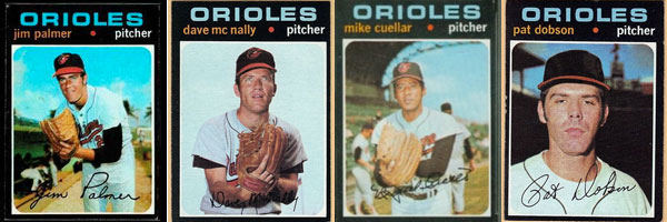 Revisiting the 1971 Orioles and their four 20-game winners