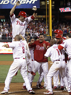 Morning Juice: Phillies' Werth bops gut-busting homer in 13th