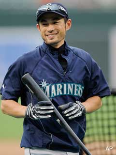 Know who also can't escape the steroid suspicion? That Ichiro