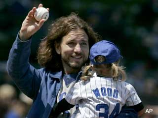 Eddie Vedder ready to go 'All The Way' with new Cubs song