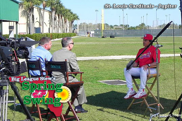 Spring Swing: Cardinals' La Russa has it made in shade with Kruk