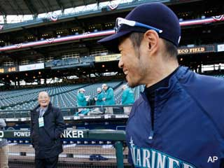 News & Notes: Ichiro passes Harimoto to become Japan's hit king