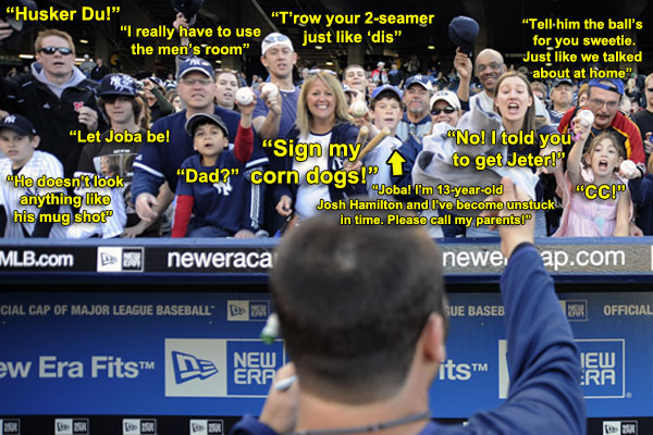 Everybody's Talking: Joba autograph hounds speak their minds