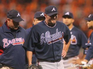 Tough luck: Braves lose Billy Wagner to strained oblique