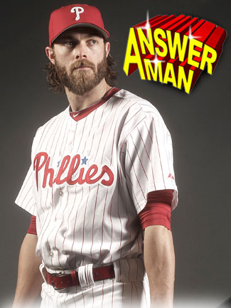 Answer Man: Jayson Werth talks heritage, MMA and the beard