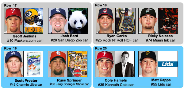 The Dick Trickle All-Stars: MLB  players with NASCAR names