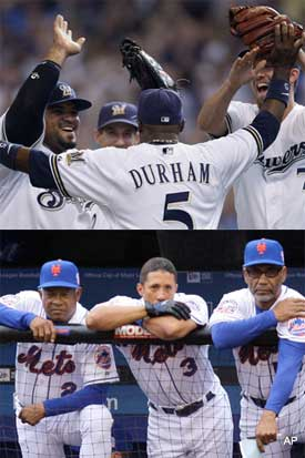 Boomin' Brewers head to playoffs, morose Mets head home
