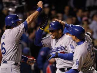 And the plot thickens: Dodgers throttle Cubs in Wrigley opener