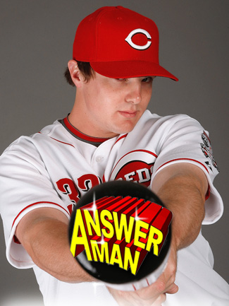 Answer Man: Jay Bruce talks Texas, his own song and Mr. Redlegs