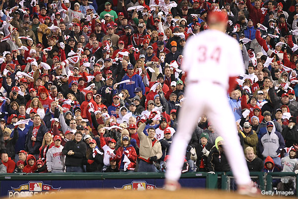 Where does Cliff Lee's Game 3 rank among best playoff starts?