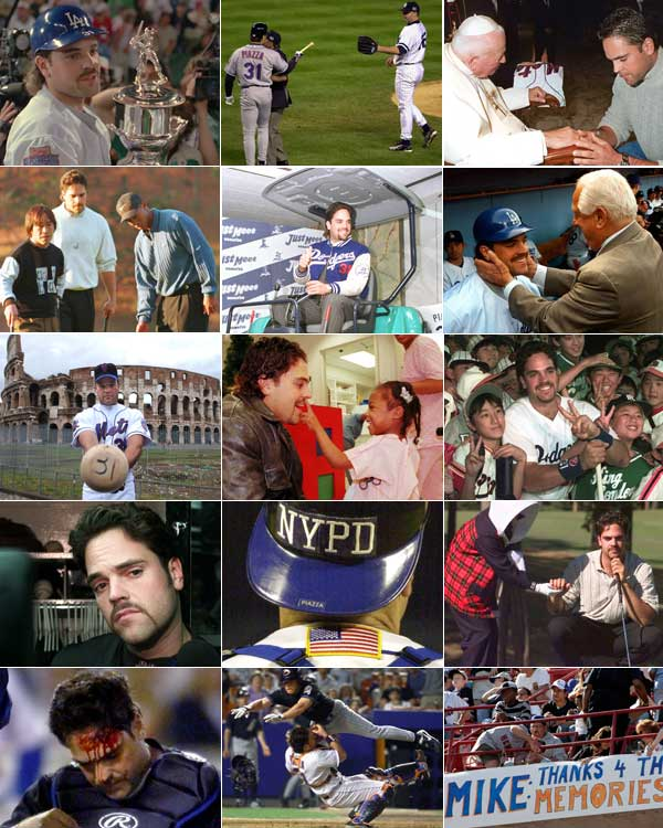 Mike Piazza: A catcher's cool career in pictures