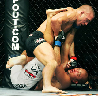 Penn has no answers for GSP