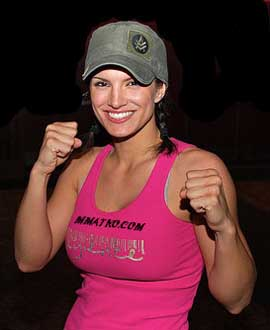Gina Carano calls press to complain about fame