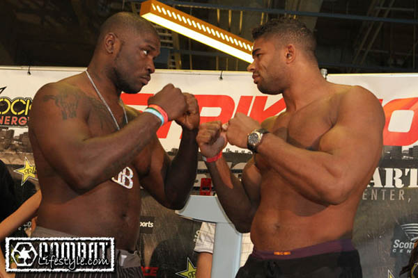 Strikeforce: Heavy Artillery weigh-ins: Overeem, Rogers still huge