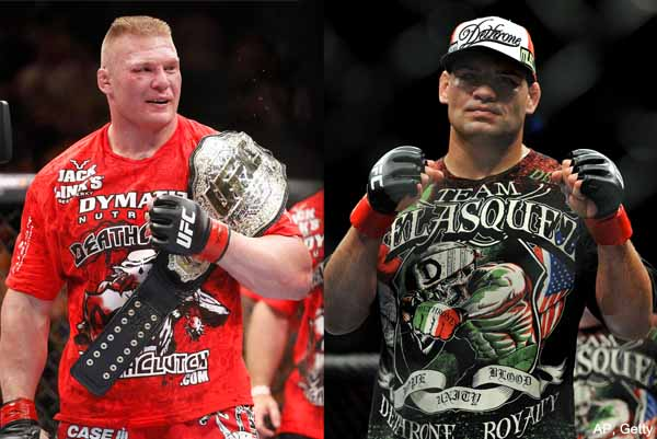 Wrestling with the facts: Brock Lesnar vs. Cain Velasquez