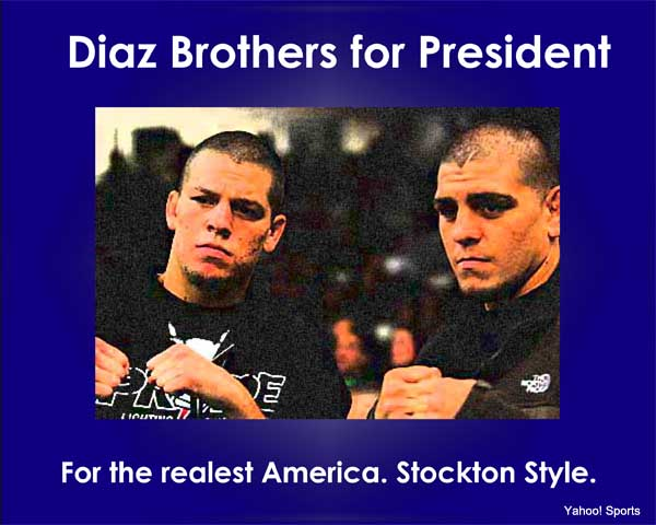 Election Day MMA: Diaz Brothers for President