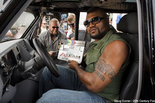 Homophobic, foul-mouthed, great actor ... Rampage's impact on A-Team set