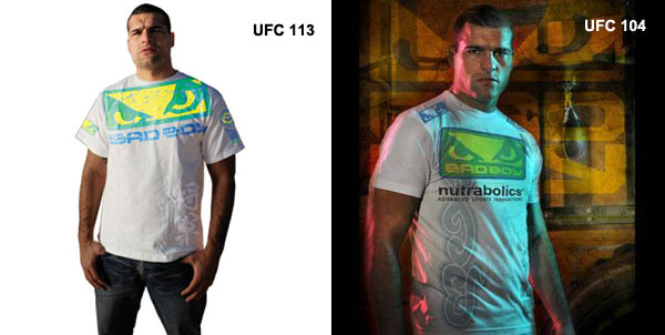 MMA Marketplace: Same opponent, (nearly) same shirt for Shogun