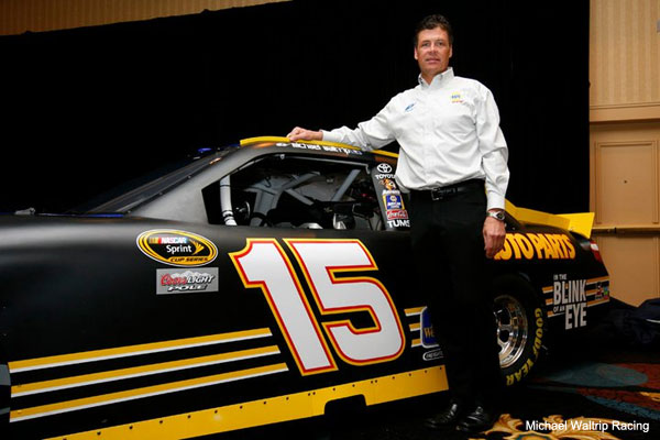 Michael Waltrip kicks off promotion for his Dale Sr. book