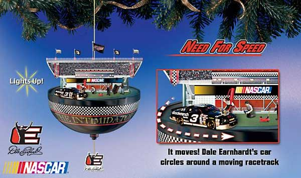A collection of NASCAR holiday gifts, part 1