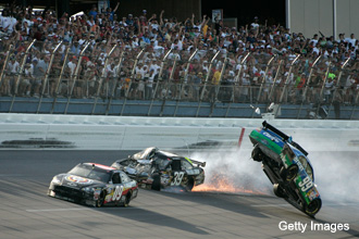 Ever wonder what it's like to drive full-out at Talladega?